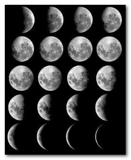 Похудение по луне