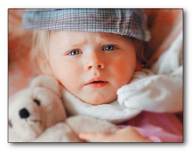 У ребенка температура, что делать.