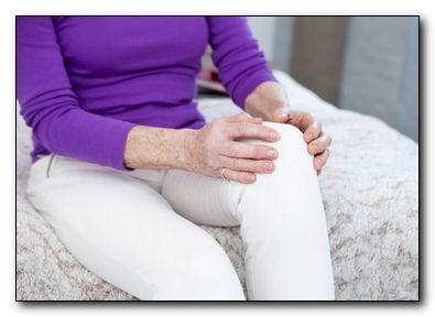 Огуречный компресс для коленей